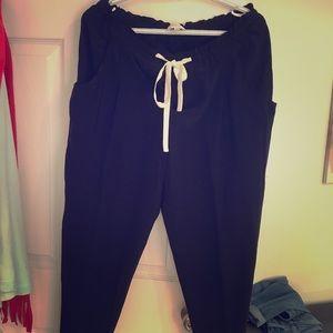 Aritzia silk pants